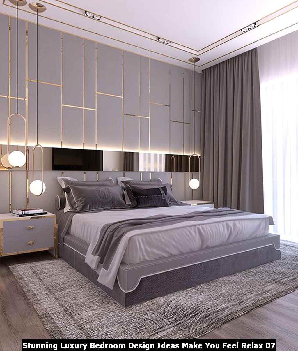 Stunning Luxury Bedroom Design Ideas Make You Feel Relax 07