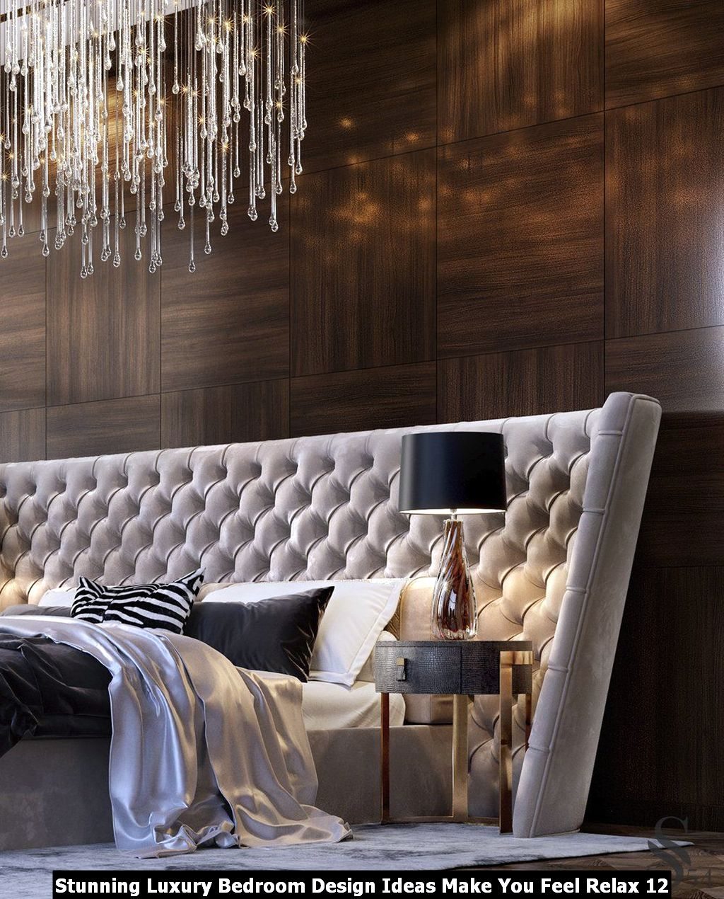 Stunning Luxury Bedroom Design Ideas Make You Feel Relax 12