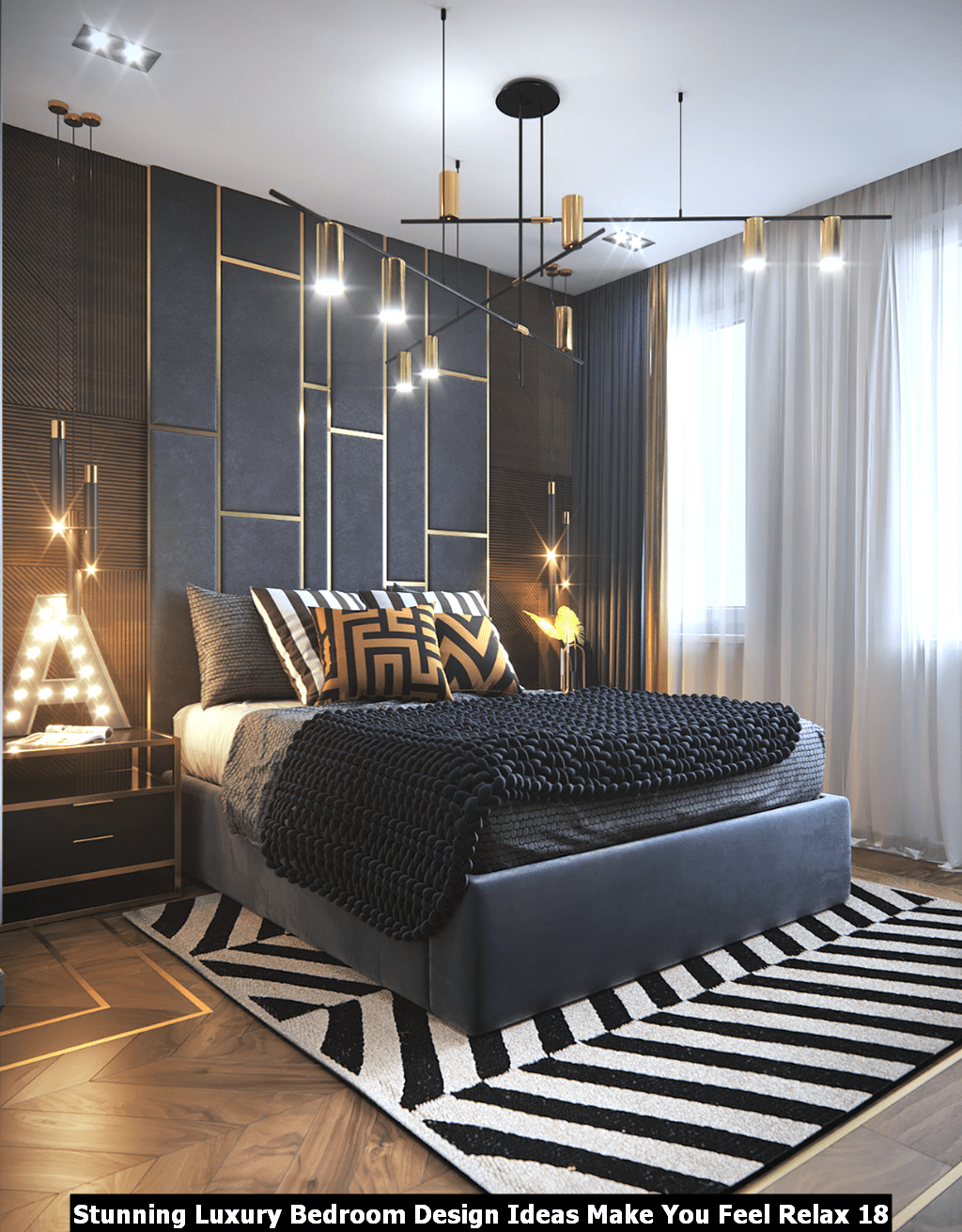 Stunning Luxury Bedroom Design Ideas Make You Feel Relax 18