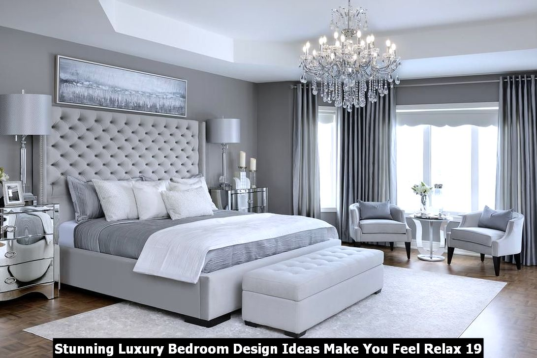 Stunning Luxury Bedroom Design Ideas Make You Feel Relax 19
