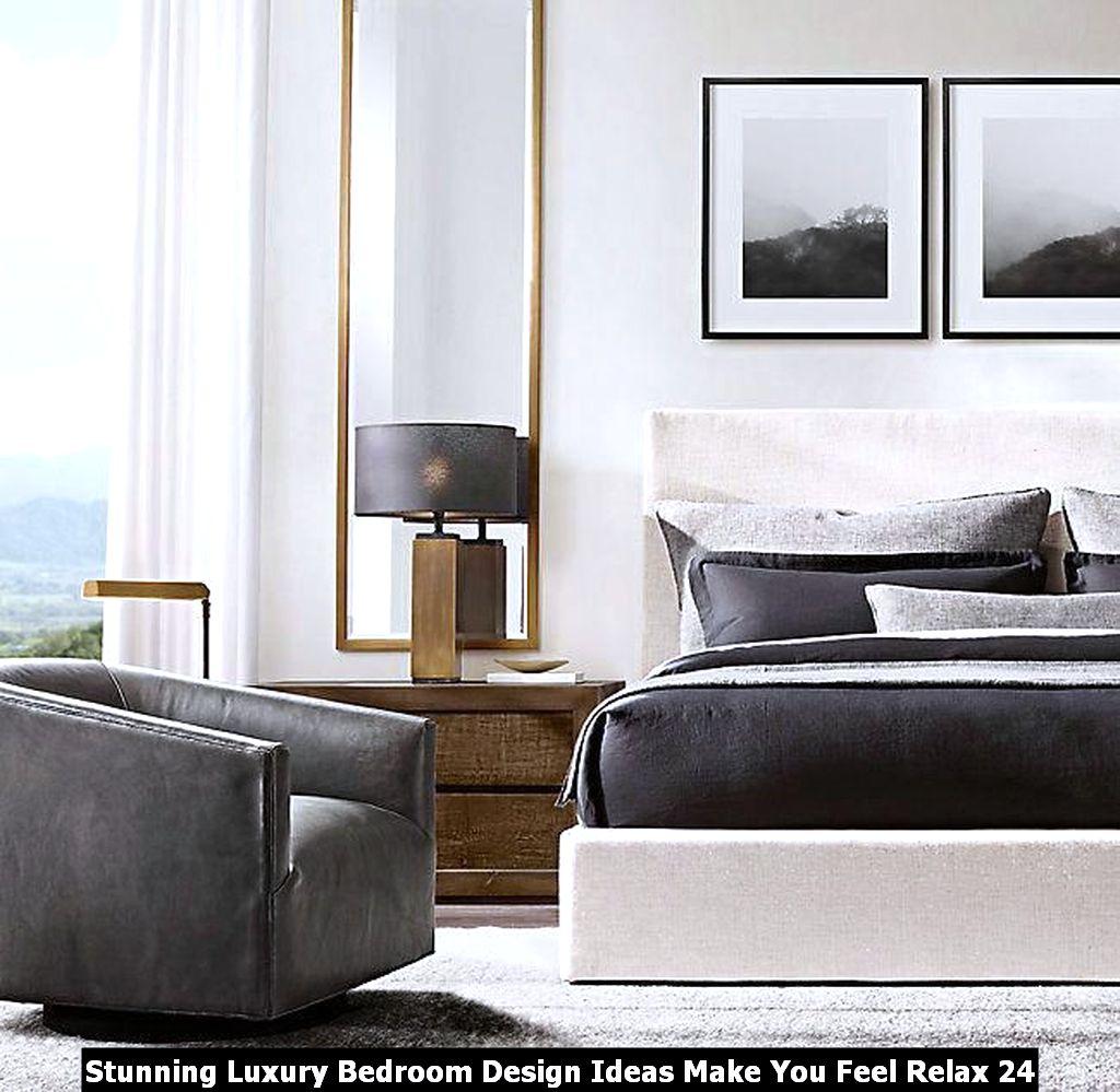 Stunning Luxury Bedroom Design Ideas Make You Feel Relax 24