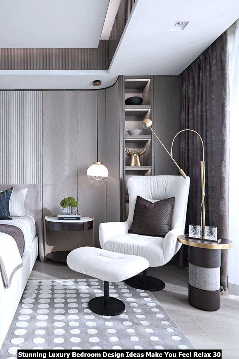 Stunning Luxury Bedroom Design Ideas Make You Feel Relax 30