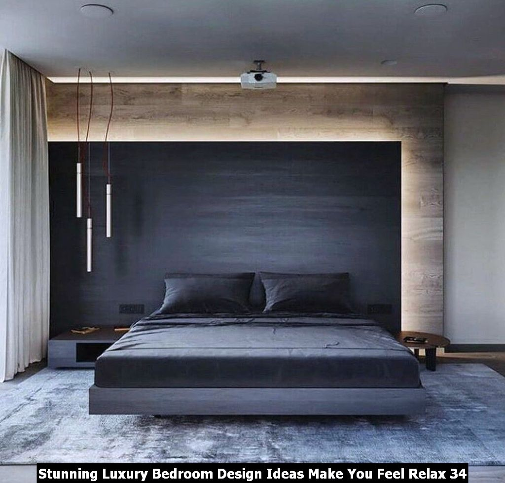Stunning Luxury Bedroom Design Ideas Make You Feel Relax 34