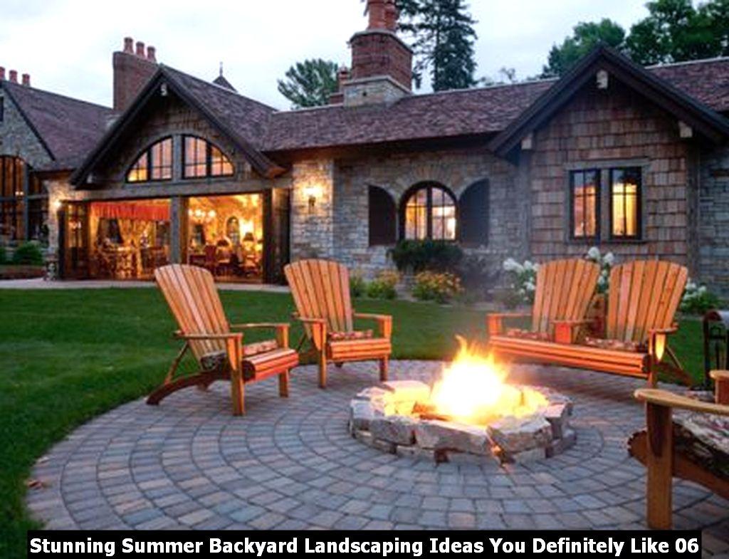 Stunning Summer Backyard Landscaping Ideas You Definitely Like 06