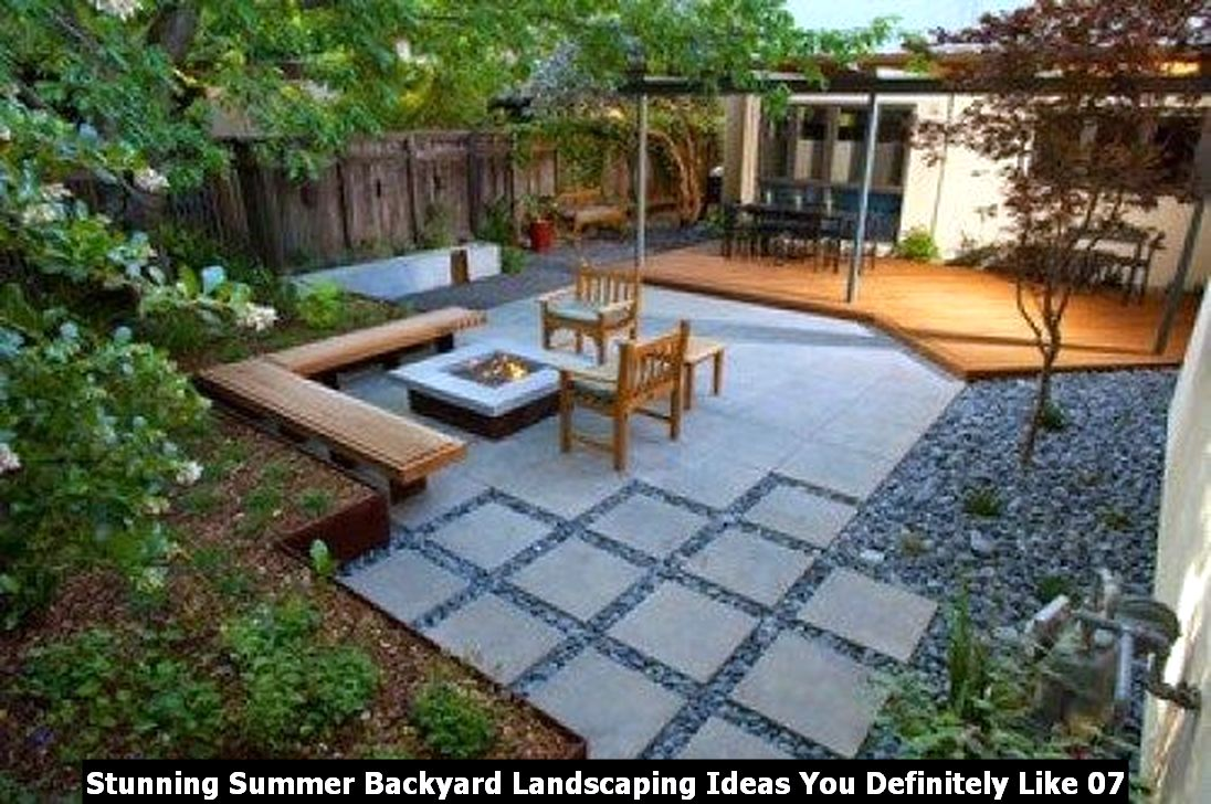 Stunning Summer Backyard Landscaping Ideas You Definitely Like 07