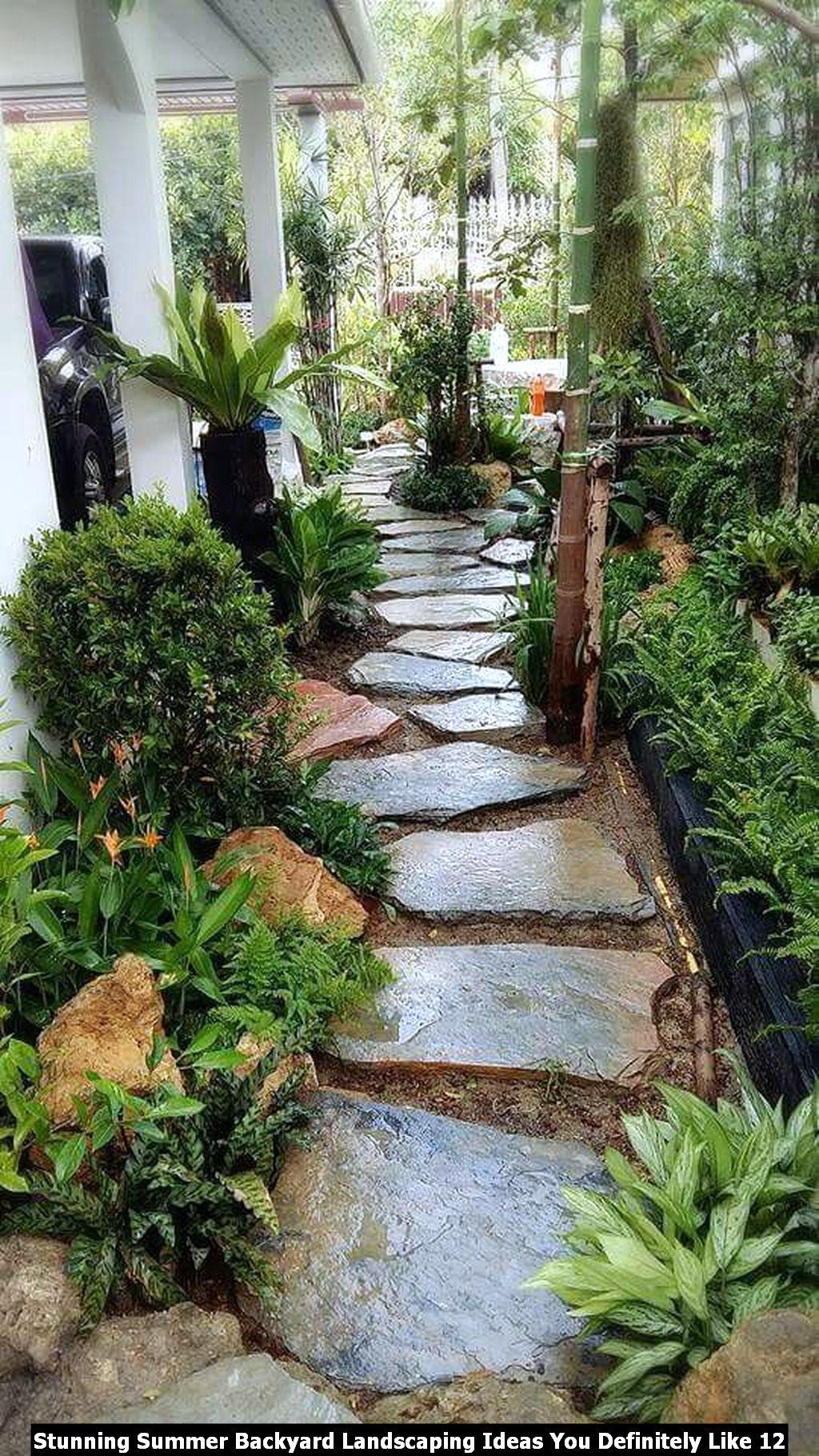 Stunning Summer Backyard Landscaping Ideas You Definitely Like 12