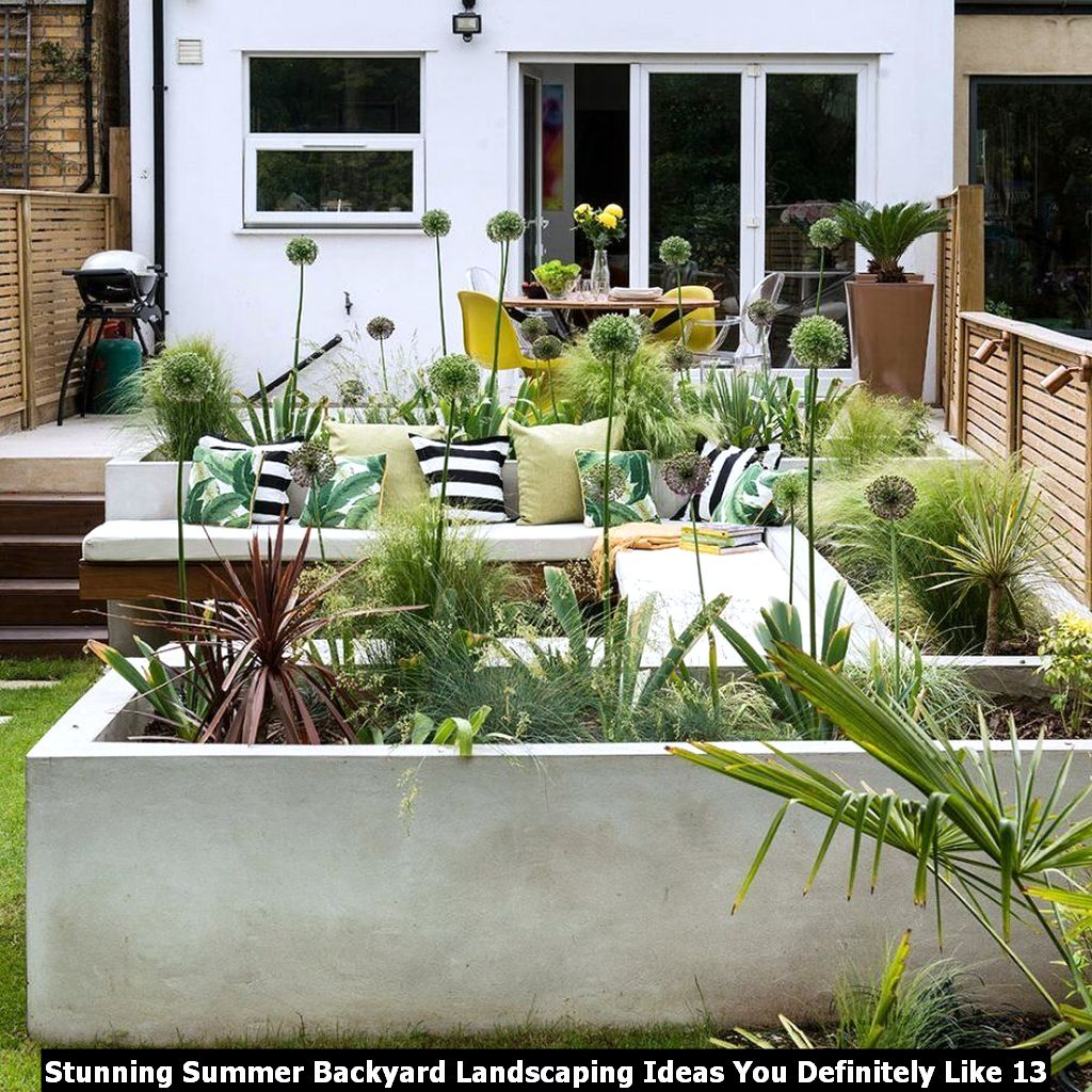 Stunning Summer Backyard Landscaping Ideas You Definitely Like 13