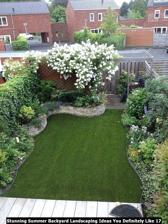 Stunning Summer Backyard Landscaping Ideas You Definitely Like 17