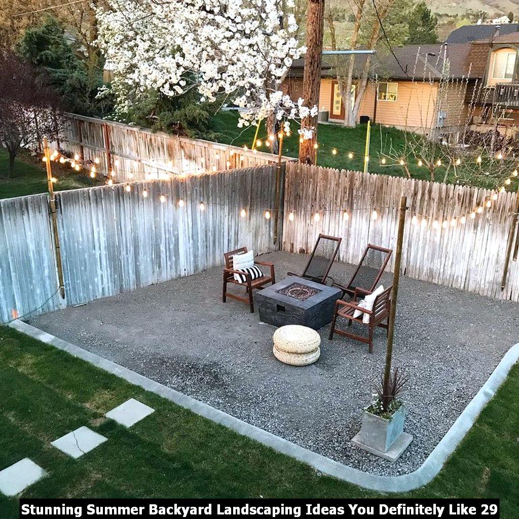 Stunning Summer Backyard Landscaping Ideas You Definitely Like 29