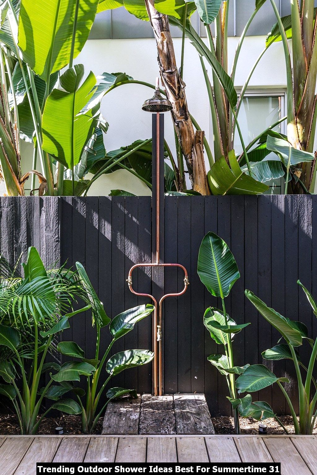 Trending Outdoor Shower Ideas Best For Summertime 31