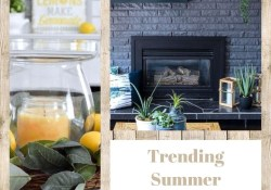 Trending Summer Fireplace Decor Ideas You Should Copy