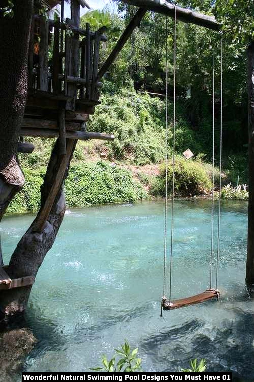 Wonderful Natural Swimming Pool Designs You Must Have 01