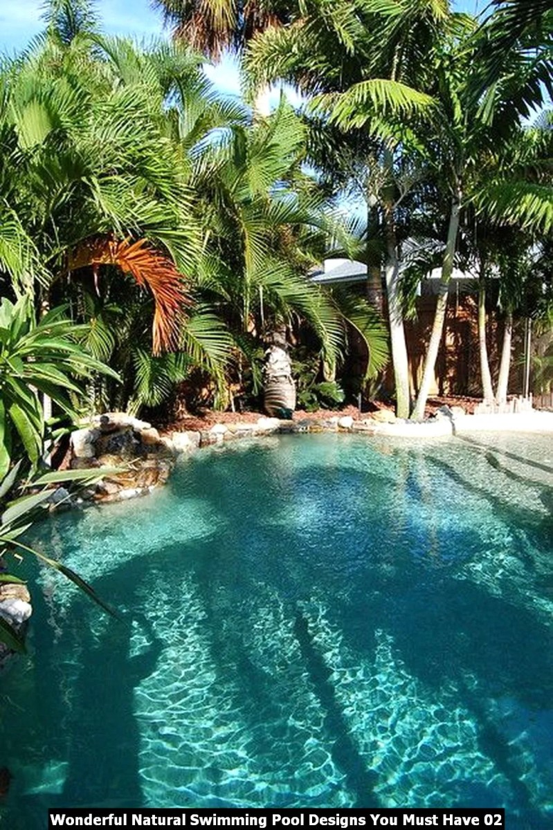 Wonderful Natural Swimming Pool Designs You Must Have 02