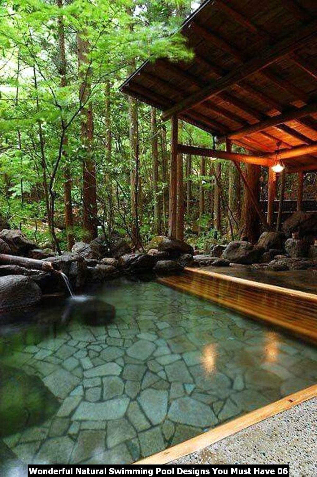 Wonderful Natural Swimming Pool Designs You Must Have 06