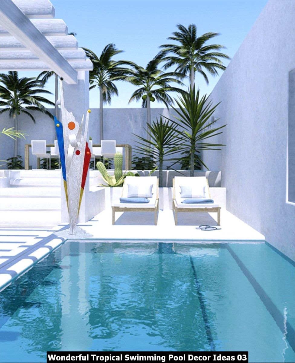 Wonderful Tropical Swimming Pool Decor Ideas 03