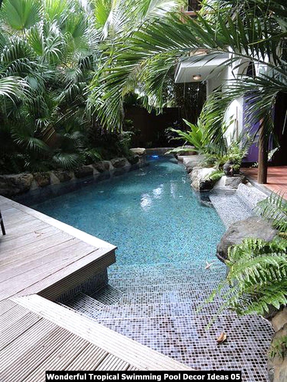Wonderful Tropical Swimming Pool Decor Ideas 05