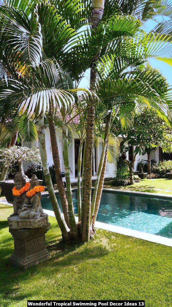 Wonderful Tropical Swimming Pool Decor Ideas 13