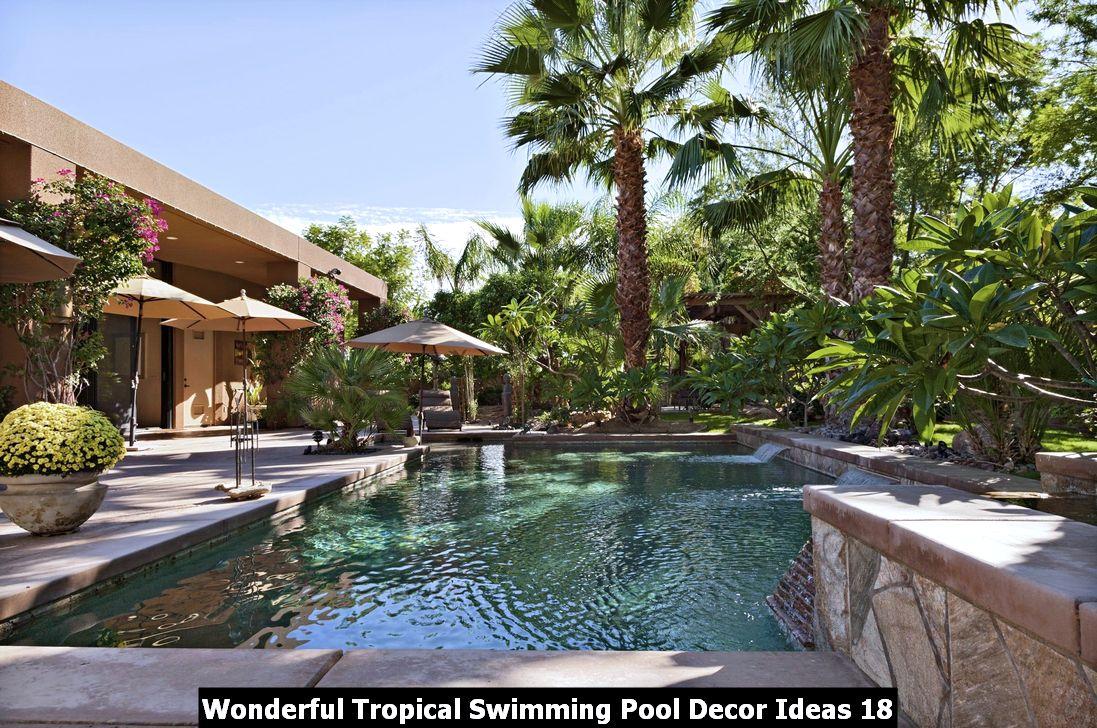 Wonderful Tropical Swimming Pool Decor Ideas 18