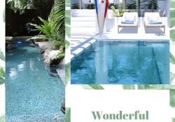 Wonderful Tropical Swimming Pool Decor Ideas
