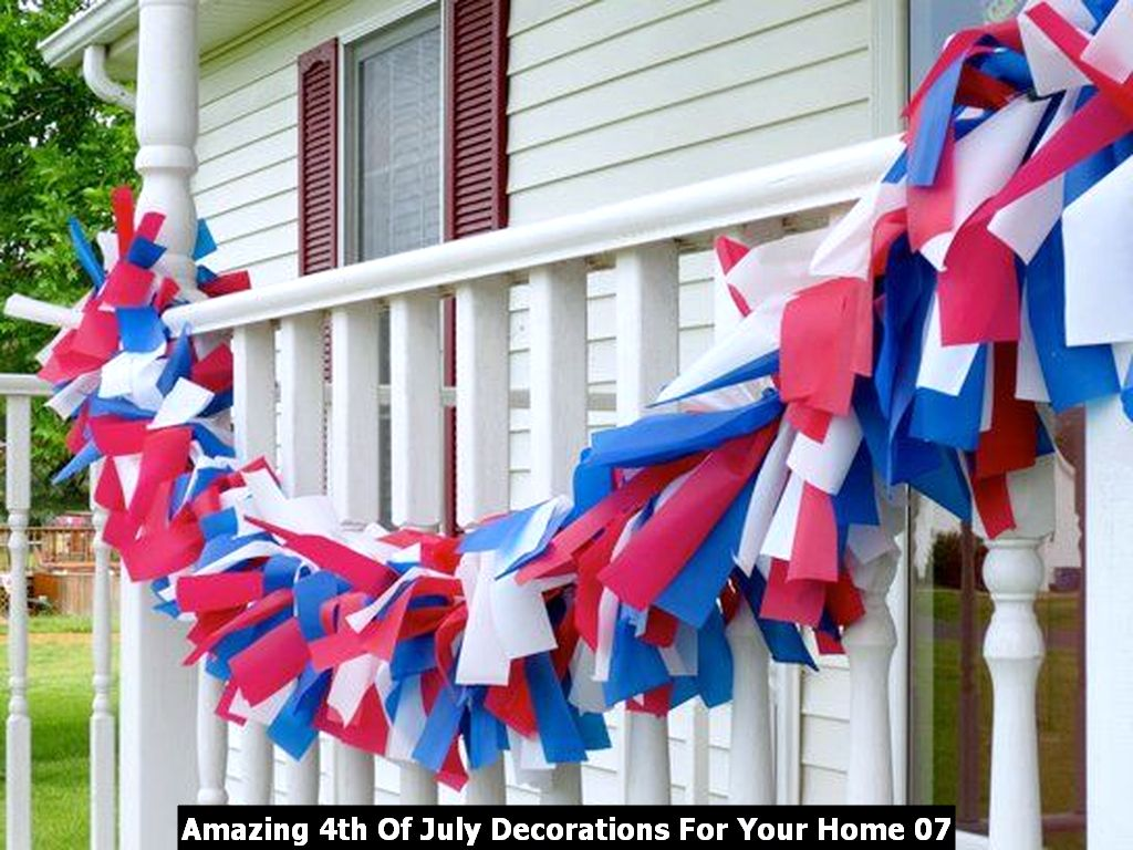 Amazing 4th Of July Decorations For Your Home 07