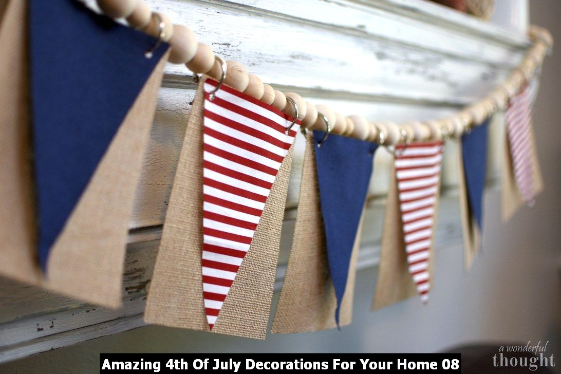Amazing 4th Of July Decorations For Your Home 08