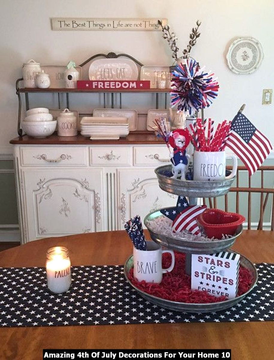 Amazing 4th Of July Decorations For Your Home 10