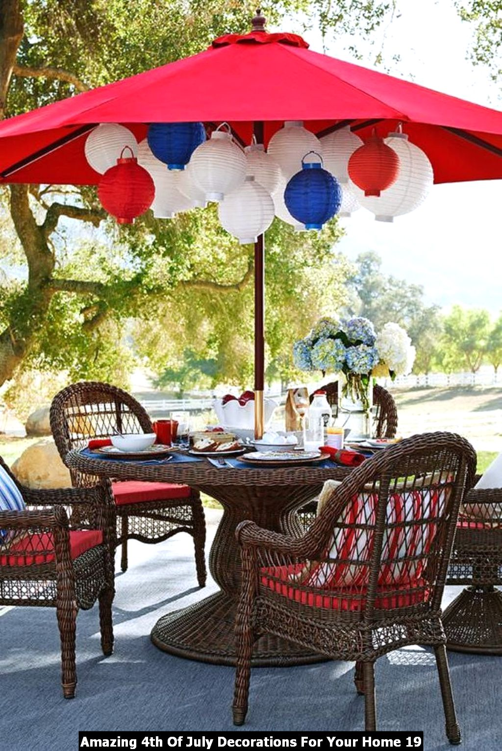 Amazing 4th Of July Decorations For Your Home 19