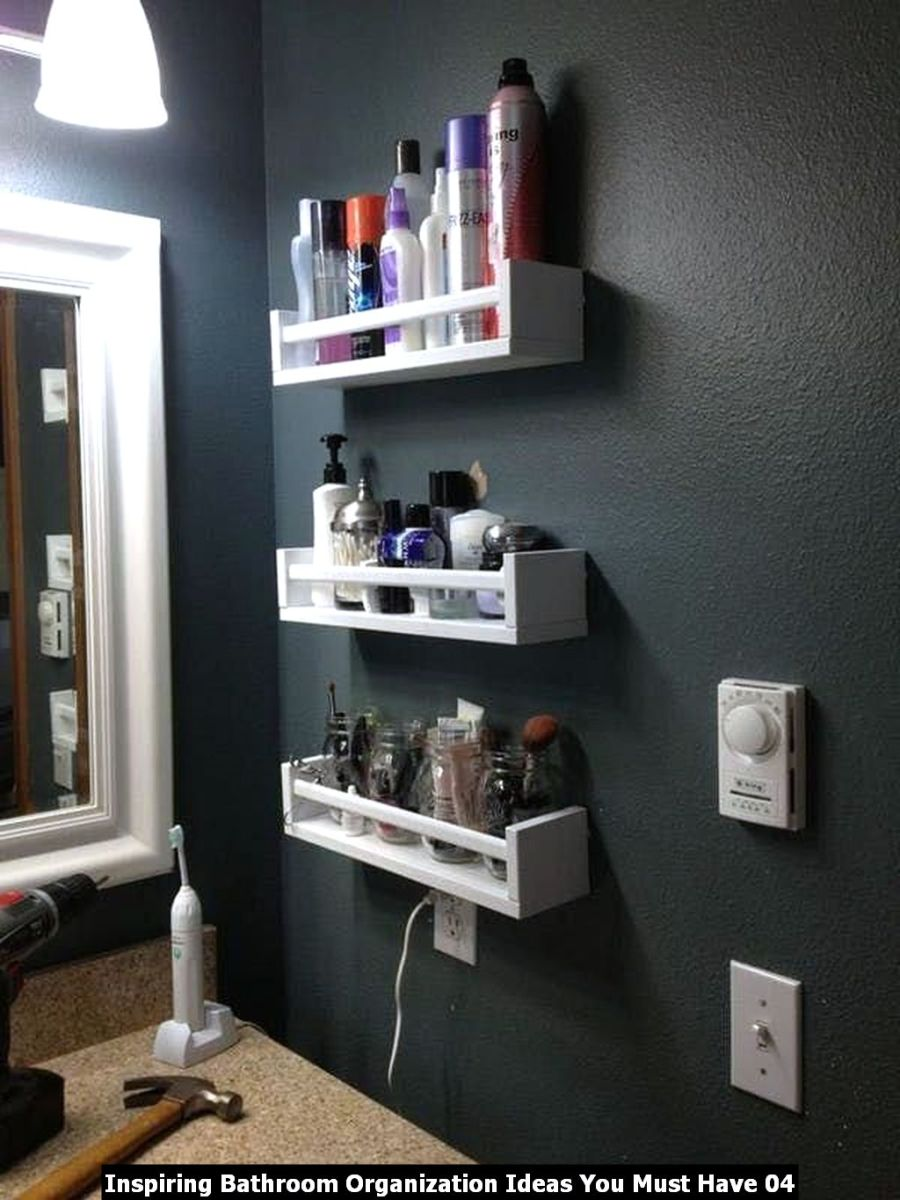 Inspiring Bathroom Organization Ideas You Must Have 04