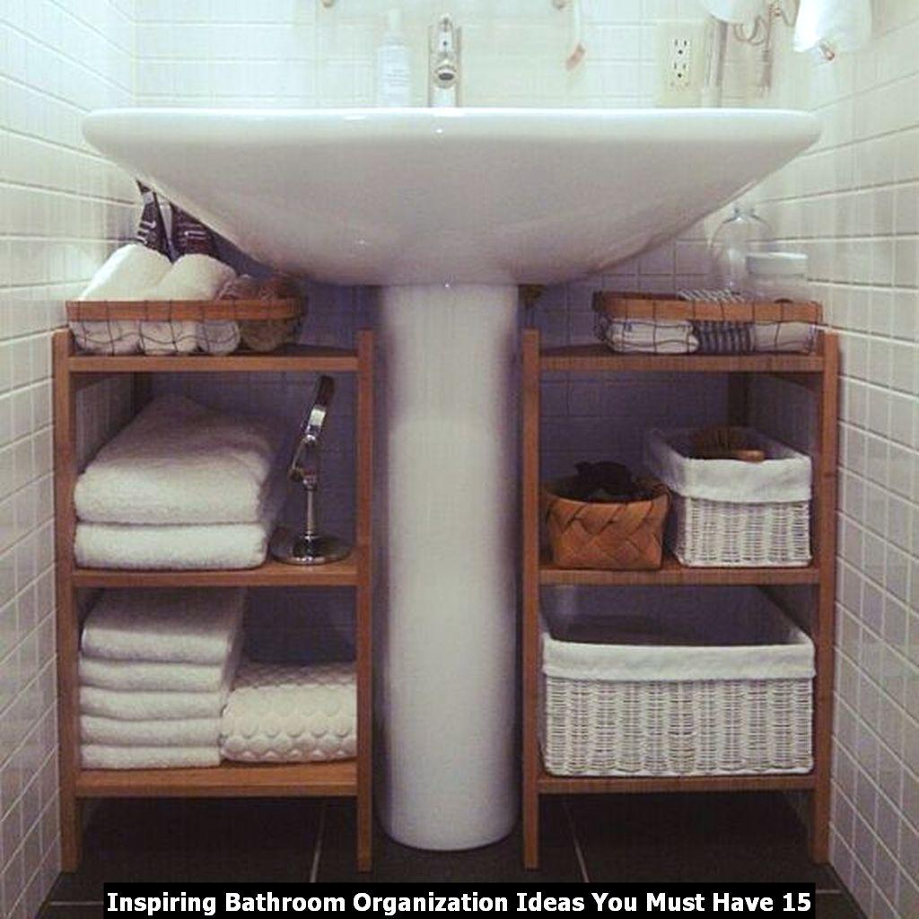 Inspiring Bathroom Organization Ideas You Must Have 15