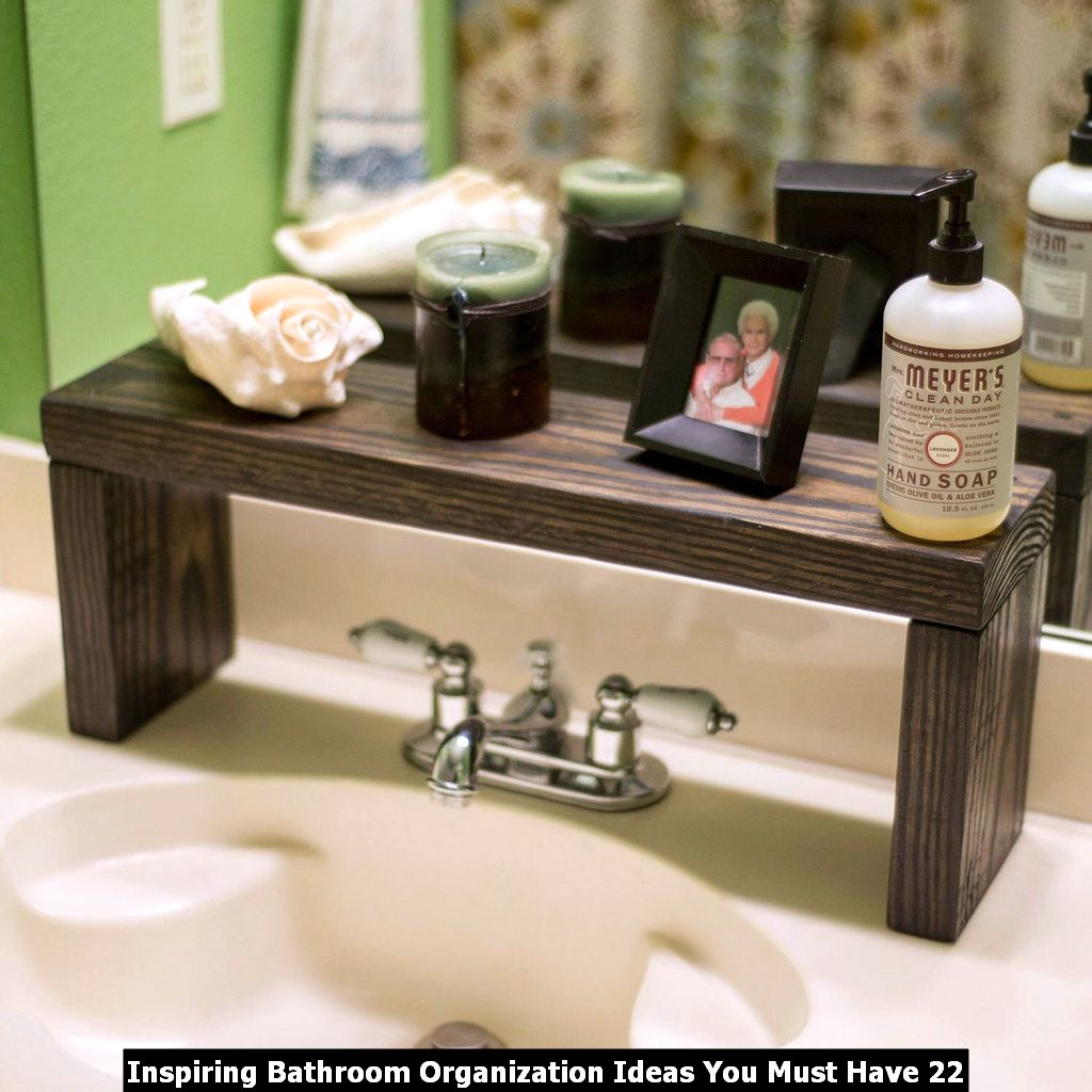 Inspiring Bathroom Organization Ideas You Must Have 22