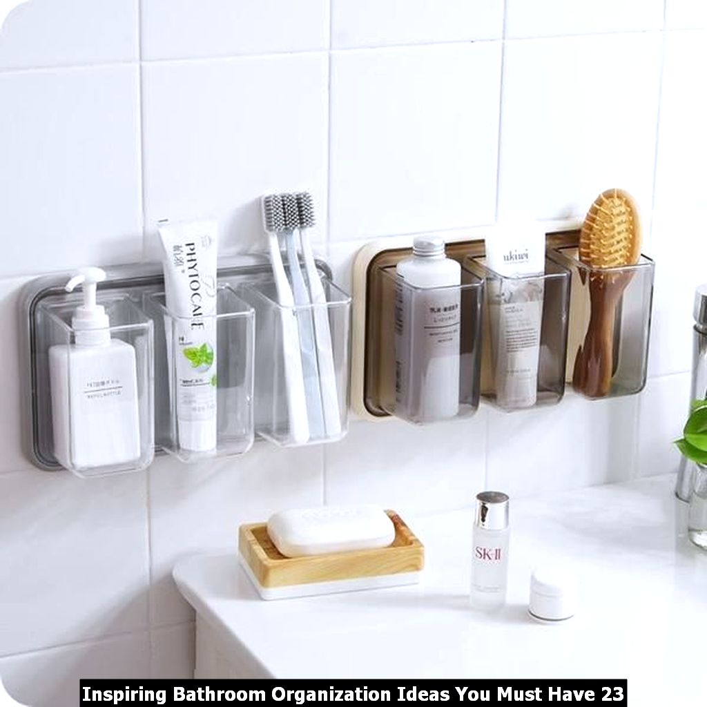 Inspiring Bathroom Organization Ideas You Must Have 23