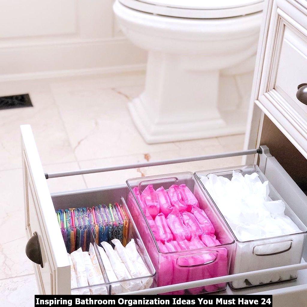 Inspiring Bathroom Organization Ideas You Must Have 24