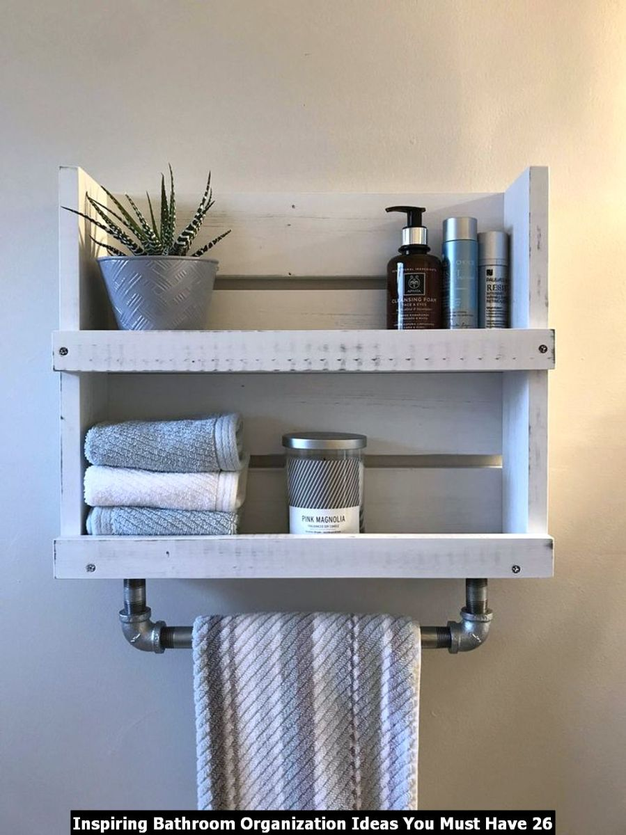 Inspiring Bathroom Organization Ideas You Must Have 26