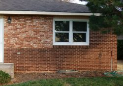 Staining Exterior Brick