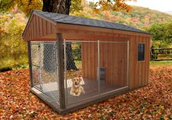 Outdoor Heated Dog House