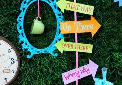 Alice In Wonderland Party Decorations DIY