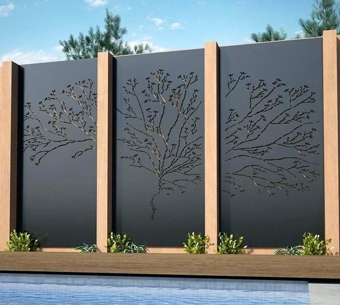 Decorative Outdoor Privacy Screens
