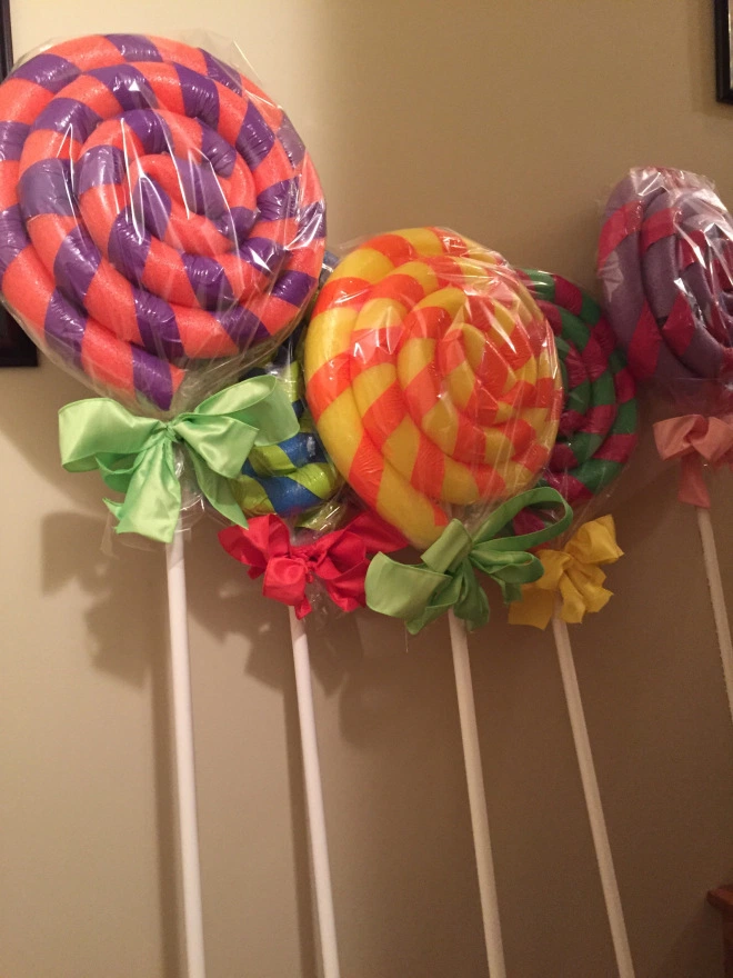 DIY Giant Candy Decorations