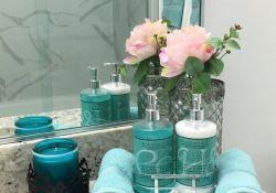Teal Bathroom Decor