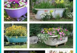 Old Bathtub Garden Ideas