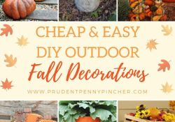 DIY Fall Decorations For Outside