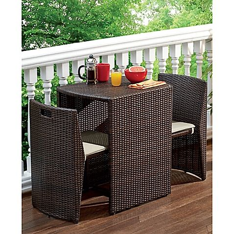 Small Outdoor Dining Set