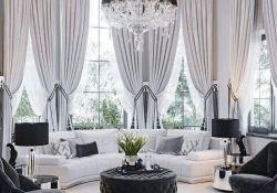 Elegant Living Room Curtains