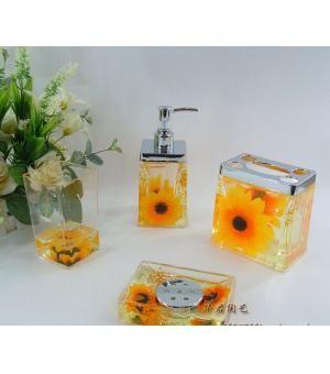 Sunflower Bathroom Set