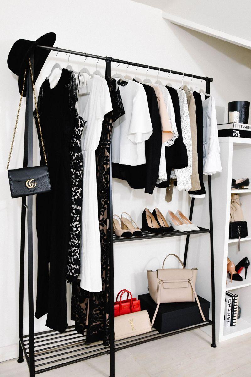 Bedroom Clothes Rack