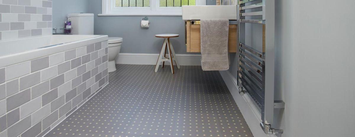 Linoleum Bathroom Flooring