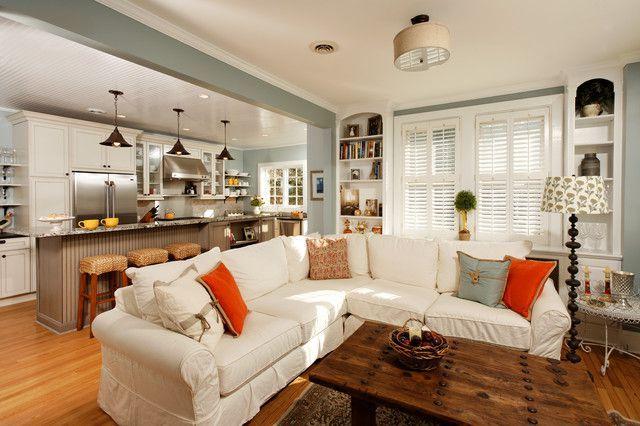 Kitchen Living Room Combo
