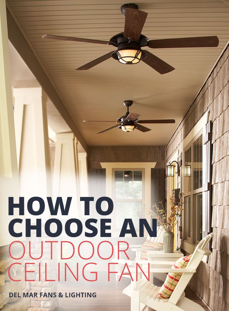 Outdoor Patio Ceiling Fans