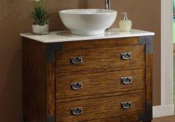 Bathroom Vanity With Bowl Sink