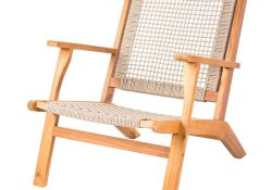 Wooden Outdoor Lounge Chairs